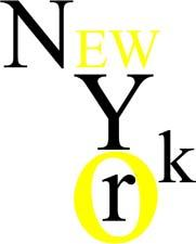 NEW YORK DESIGN 2 COULEURS